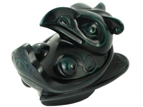 Haida Thunderbird Desktop Spirit Box by BOMA