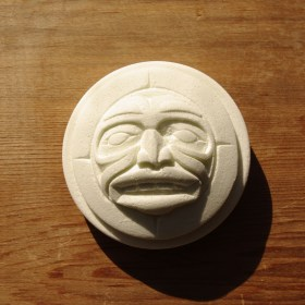 Haida Sun bath fizzer by Native artist Derek C. Heaton