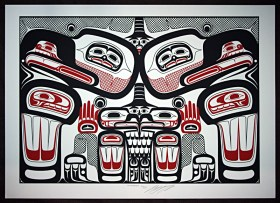 Native Northwest Artist Carl Stromquist Thunderbirds print