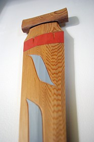 Red Cedar Native Orca 3ft Paddle by Tim Alfred