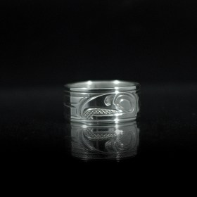 Silver Eagle Ring by Justin Rivard
